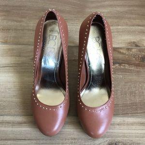 BCBG Paris Brown Sugar Jalin2x Heels Size 7.5